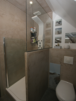 Salle de bain pour adolescents